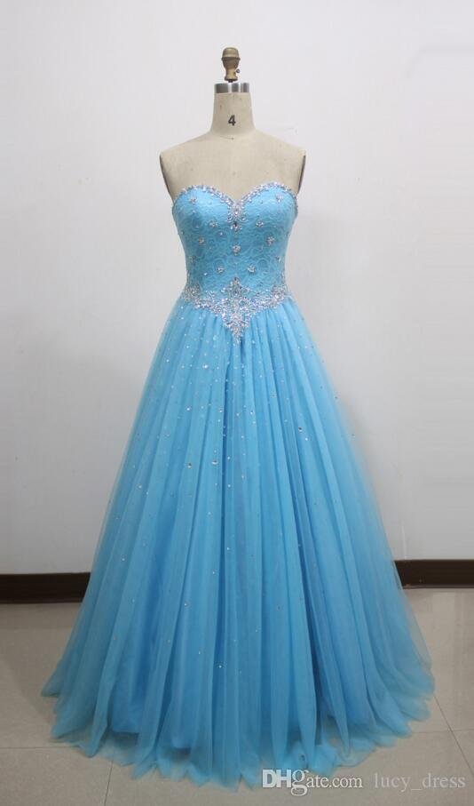 Nueva imagen real modesta calidad de alta calidad bridemaids vestidos una línea cariño dama de honor vestido largo playa vestido de encaje vestido de cordones vestidos de fiesta