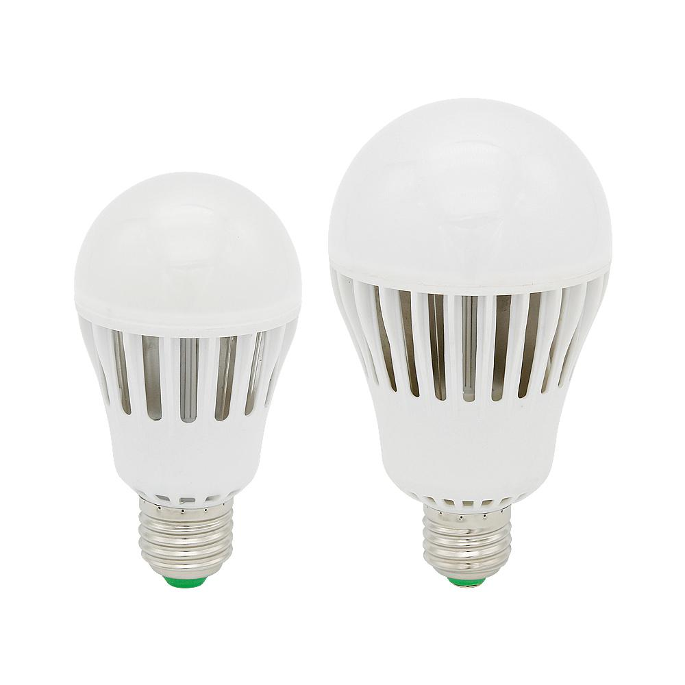 Real Wattage No Flicker Dimmable E27 Led 9w 12w 15w 18w Bulb Smd 5730 Lamps Aluminium Light Spotlight For Chandeliers Ac 85 265v Candelabra Bulbs 168