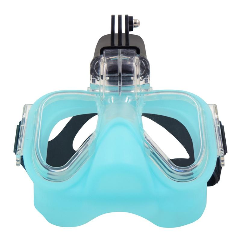 89eb10364 Compre Esportes Aquáticos Anti Fog Meio Cheia Meia Rosto Máscara De  Mergulho Snorkeling Máscara De Mergulho Submarino Máscara De Mergulho  Conjunto ...