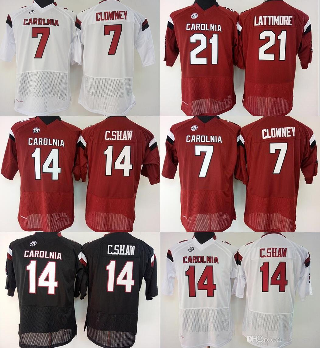 2019 Factory Outlet New Womens South Carolina Gamecock  7  14  21 College Football  Jersey 4a1776dfc
