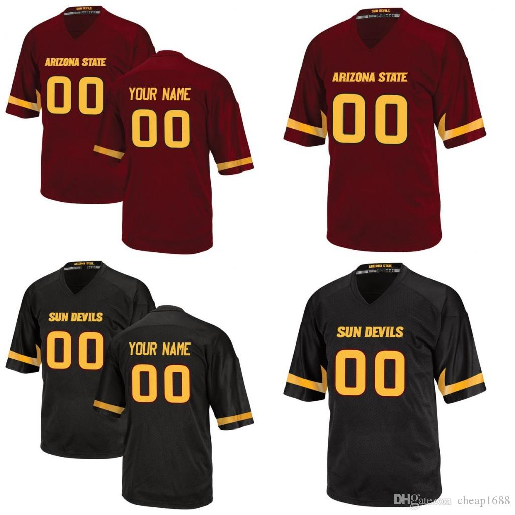 a9a885955a5 2019 Custom Arizona State Sun Devils NCAA College Football 2 Mike Bercovici  42 Pat Tillman 8 Foster 90 Will Sutton Any Name Number Jerseys From  Cheap1688