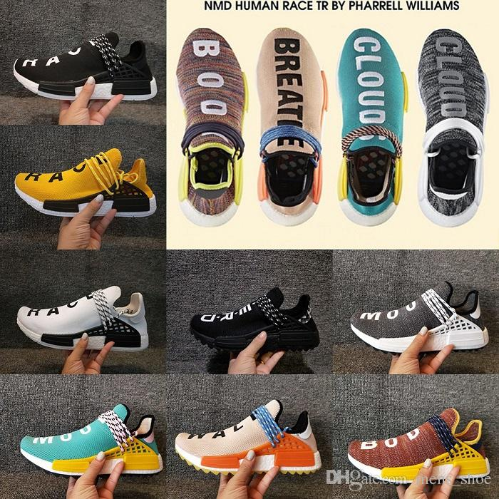f46cce588a0a9 Pharrell X Original HU Trail HUMAN RACE NERD Black Colette Men Women Sports  Sneaker Moon Noble Ink Pale Nude Running Shoes Pk Sports Shoes For Men Shoe  Sale ...