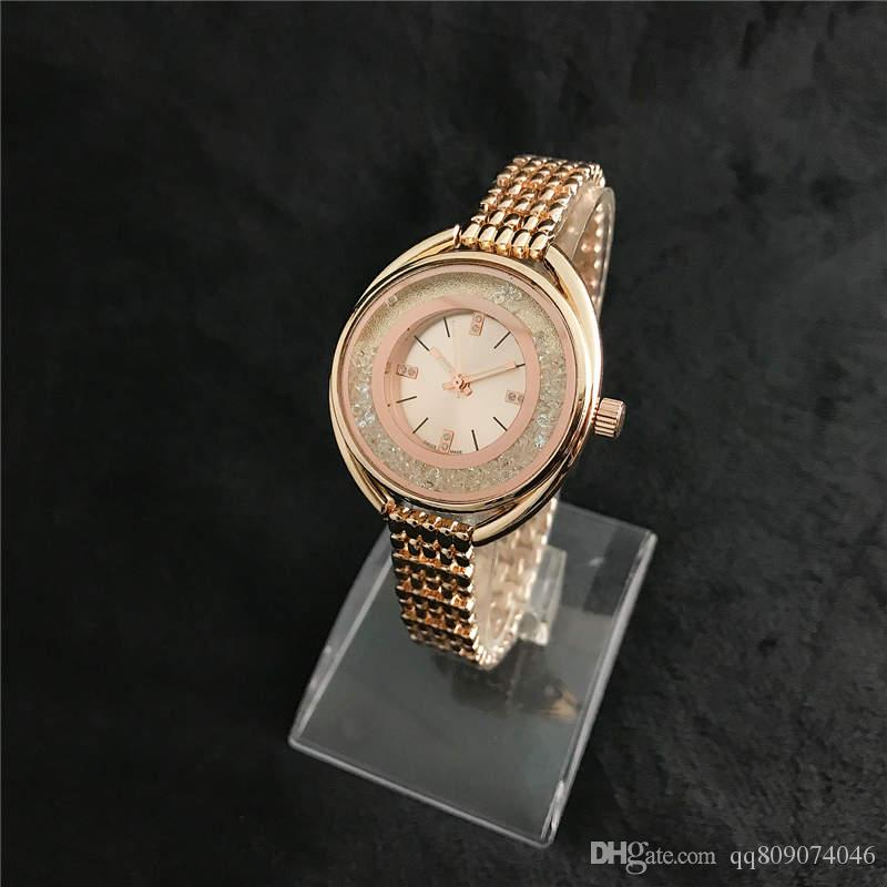 relogio diamond womens watches top brand Ultra thin 10mm luxury fashion ladies watch rose gold bangle bracelet crystal clock gift for girl