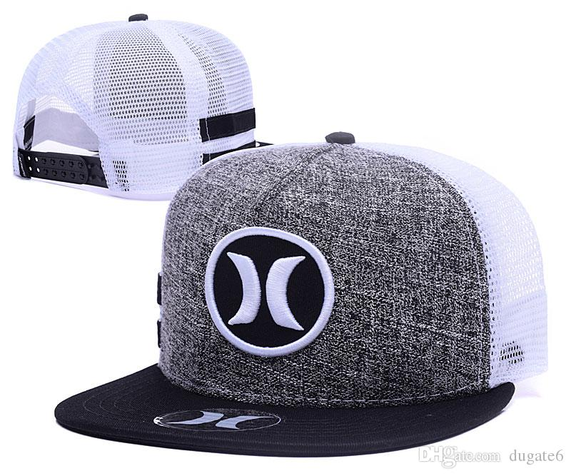 9916a57da34 2018 New Arrival Hurley Mesh Baseball Caps Sports Bone Snapback Hats Hip  Hop Casquette Gorras Adjustable Design Your Own Hat Make Your Own Hat From  Dugate6