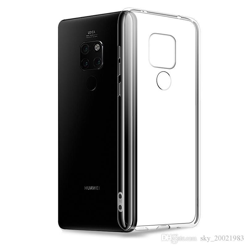 For Huawei Mate 20 Pro Tpu Clear Slim Fit Case Transparent Ultra