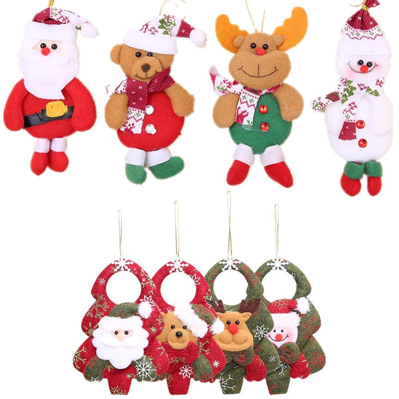 Großhandel 1 Stück Weihnachten Weihnachtsmann Schneemann Elch Puppe ...
