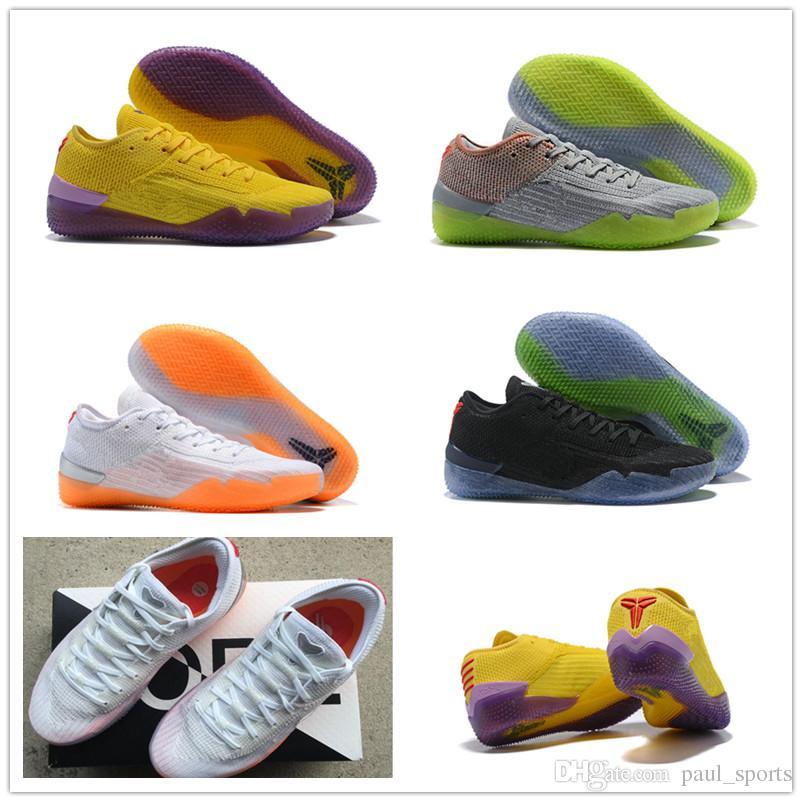 Купить Оптом Кобе 360 AD NXT Главная Желтый Фиолетовый Забастовка Мамба  День Многоцветный Волк Серый Баскетбол Обувь AAA Качество 360s Мужчины  Дизайнер ... 1f075787f79