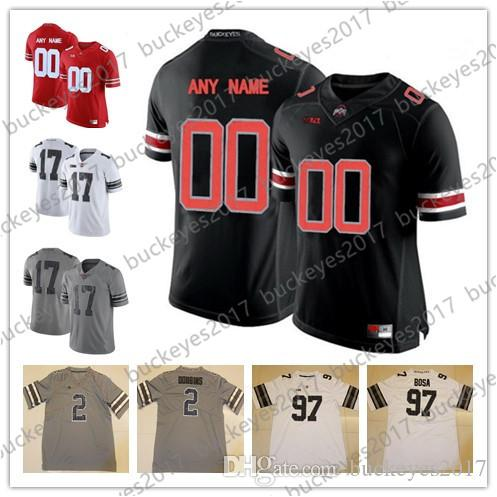 2019 Custom Mens Youth Ohio State Buckeyes College Football 16 Barrett 12  Jones 1 Miller 16 Barrett Stitched Any Name Number Cheap Jerseys S 3XL From  ... b26bf2732