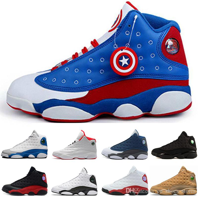951b94f31c2 Fashion 13 XIII Basketball Shoes For Women High Quality Men 13s Wine ...