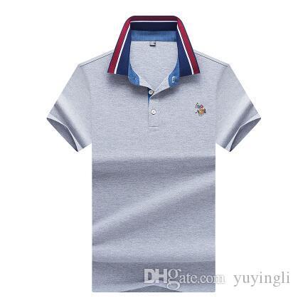 6e2d16aca9e Mercerized Cotton Short Sleeve Summer Man T Shirt Men Tshirt Streetwear  Polo T Shirt Men T Shirts Camiseta Shirt Homme Camisetas Hombre Deal With  It T Shirt ...