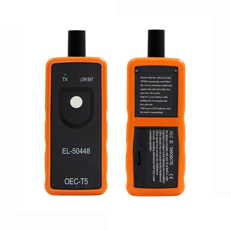 LONGFENG Car Tire Pressure Monitor Sensor EL50448 TPMS Activation Tool For GM/ Opel/ Ford