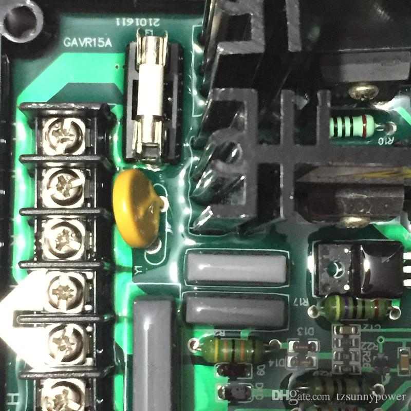 2018 Generator GAVR-15A Universal Brushless Generator Avr 15A Spannungsstabilisator Automatische Spannungsregler Kostenloser Versand