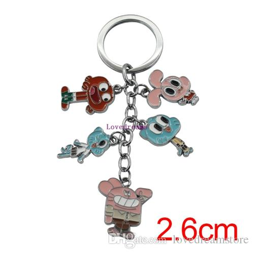 Acquista pz lotto anime the amazing world of gumball figure