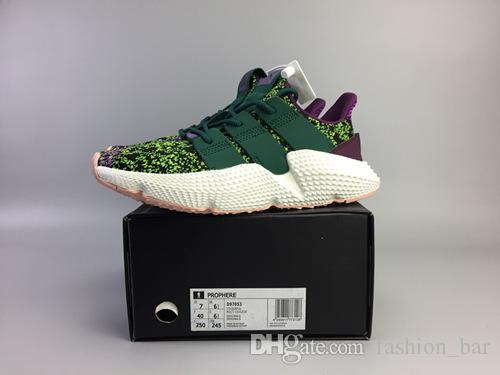 cbea6deefaa2 Dragon Ball Z X Prophere Cell Running Shoes Top Quality Prophere ...