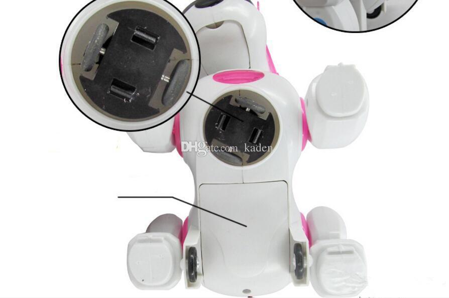 Vente chaude Électrique chien avec lumière et musique roulette secoua sa tête et la queue des jouets éducatifs pour enfants en gros Livraison gratuite