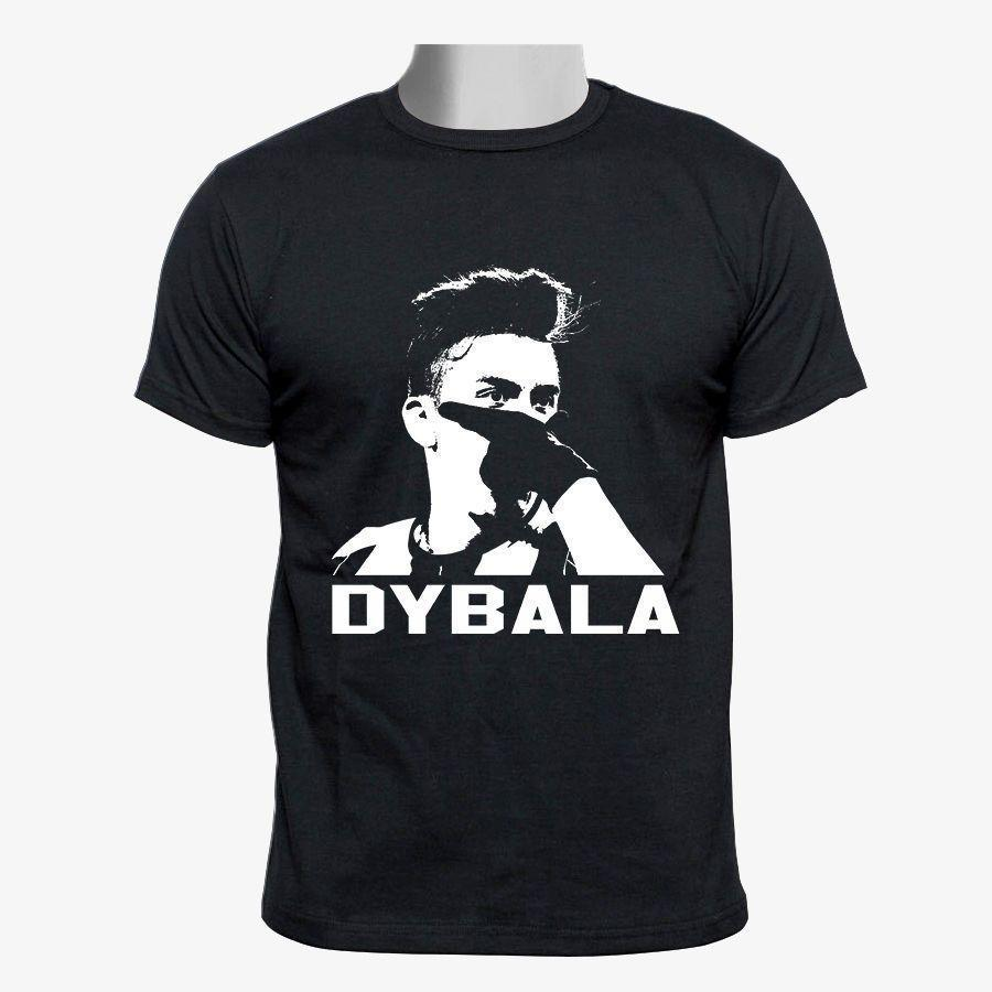 huge selection of d4f95 ca77b Paulo Dybala Mask T Shirt 2018 New Arrival T-Shirt Fashion Unique Classic  Cotton Men Top Tee Comical Shirt Men S