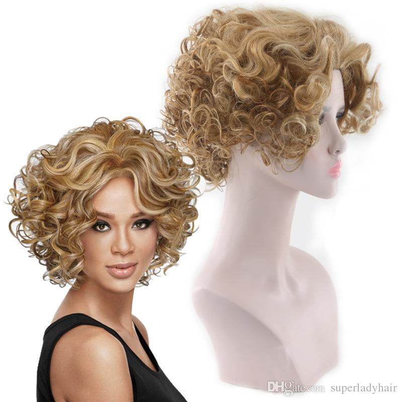 Großhandel Art Und Weise Perücke Weibliche Kurze Haare Frauen Kleine