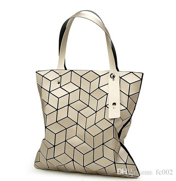Hot Sale Magic Cube Bag Folding Shoulder Handbags Fashion Casual