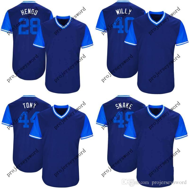 393c27fcc Chicago 40 Willson Contreras Willy 44 Anthony Rizzo Tony 49 Snake 71 ...