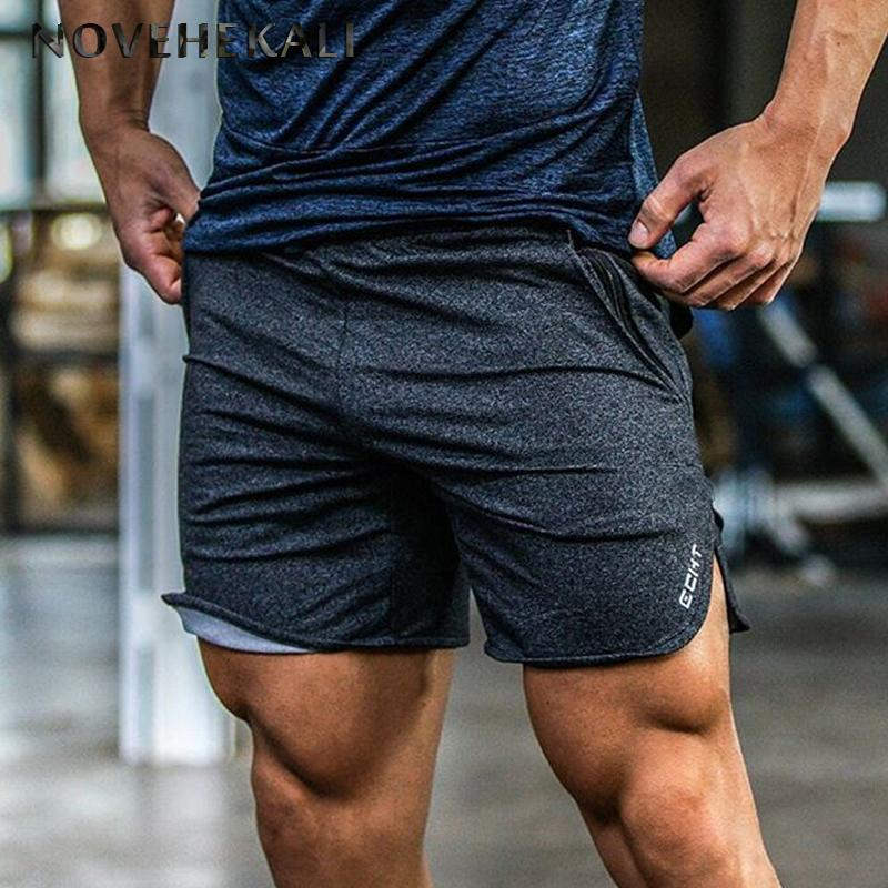 6d1985da9c3699 2019 Youndux 2017 New Men Gyms Summer Fitness Sports Shorts Leisure  Bodybuilding Workout Male Short Pants Loose Sweat Running Shorts From  Ranshu