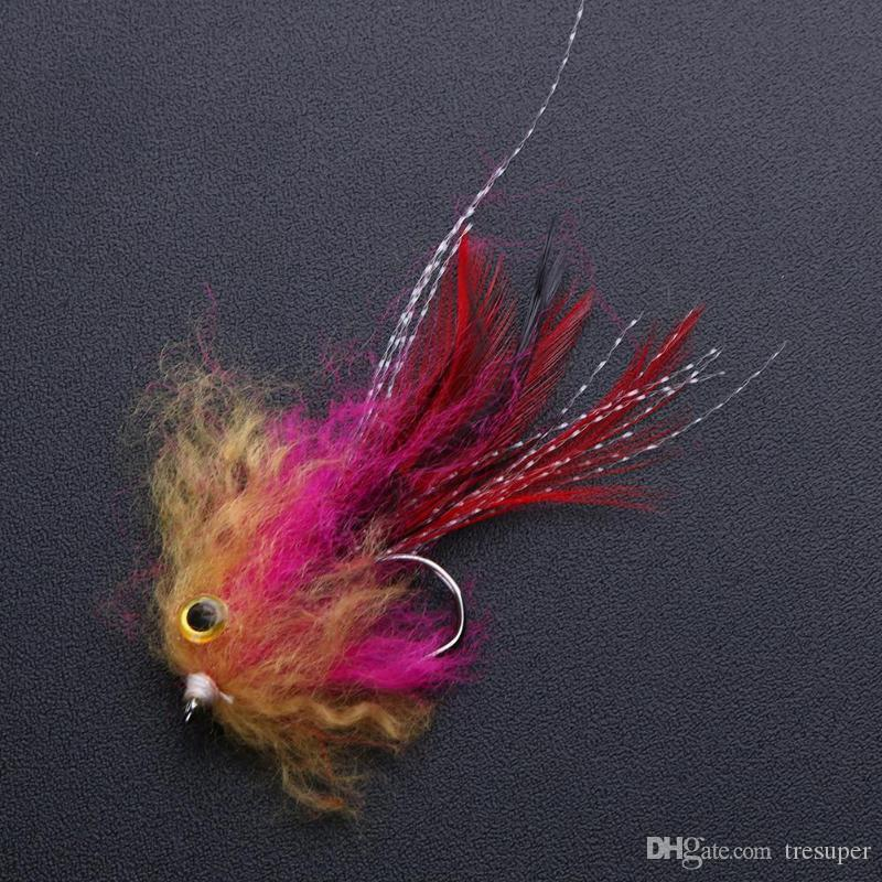 1g 10cm Trout Steelhead Salmon Pike Streamer Fly for Fly Fishing Tackle Artificial Lure Bait Fishing Accessories Hot Sale