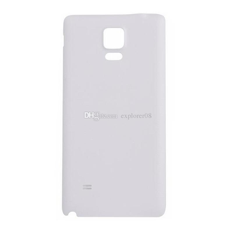 OEM جديد غطاء البطارية لسامسونج غالاكسي ملاحظة 4 Note4 N910 N910P باب البطارية الخلفي الإسكان الغطاء الخلفي حالة مزدوجة
