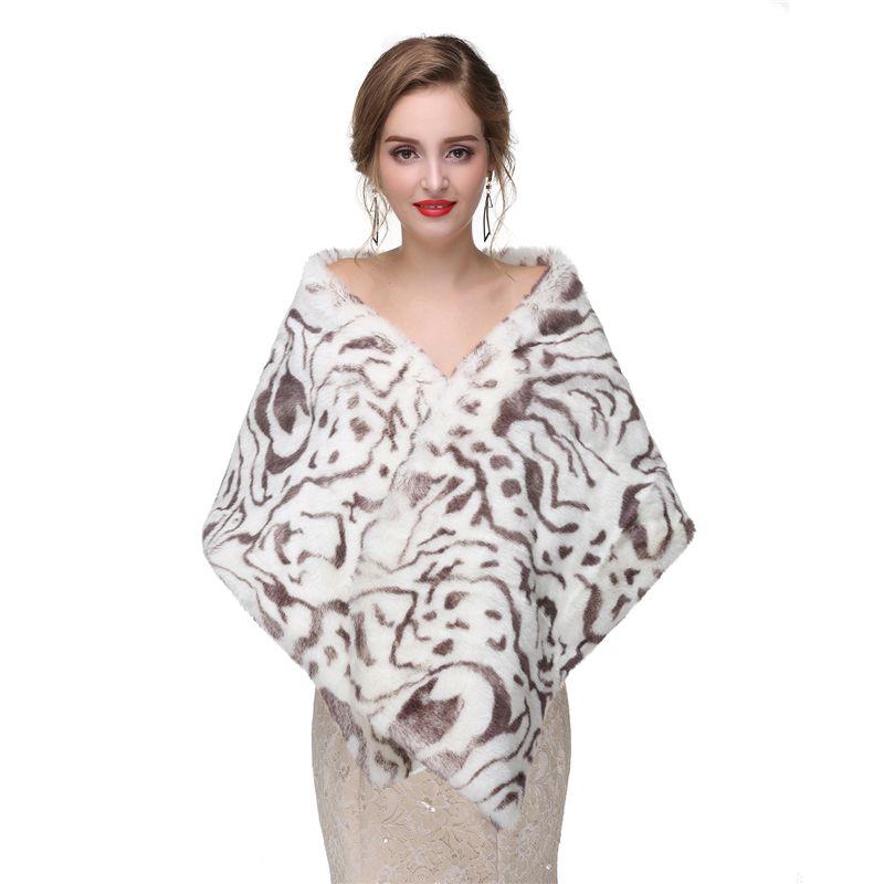 CMS12 Faux fur Vintage style, faux fur wrap,Bridal Wrap Women Shawl cape, faux fur shrug, bridal shrug, bridal wrap