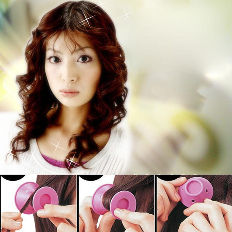 Silicone Curlers Hairstyle Soft Hair Diy Peco Roll Hair Style Roller