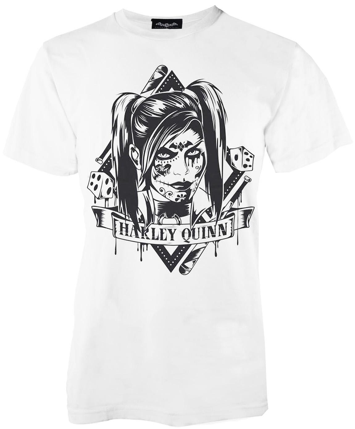 41c517db6 Compre Adulto Oficial DC Comics Batman Harley Quinn Tee Joker Camiseta  Suicide Squad Top Divertido Imprimir Tops Manga Hombre Camiseta Homme  Horror A  11.01 ...