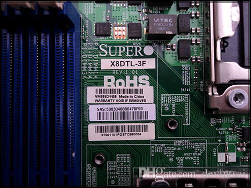 Motherboard Do Servidor Para SuperMicro X8DTL-3F Dual x58 LGA1366 Mainboard Do Sistema