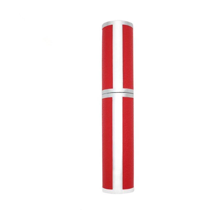 Empty red Eyeliner Tube, Plastic DIY Cosmetic Eyelash Glue Refillable Bottle, Eyeliner Growth Liquid Tube F512