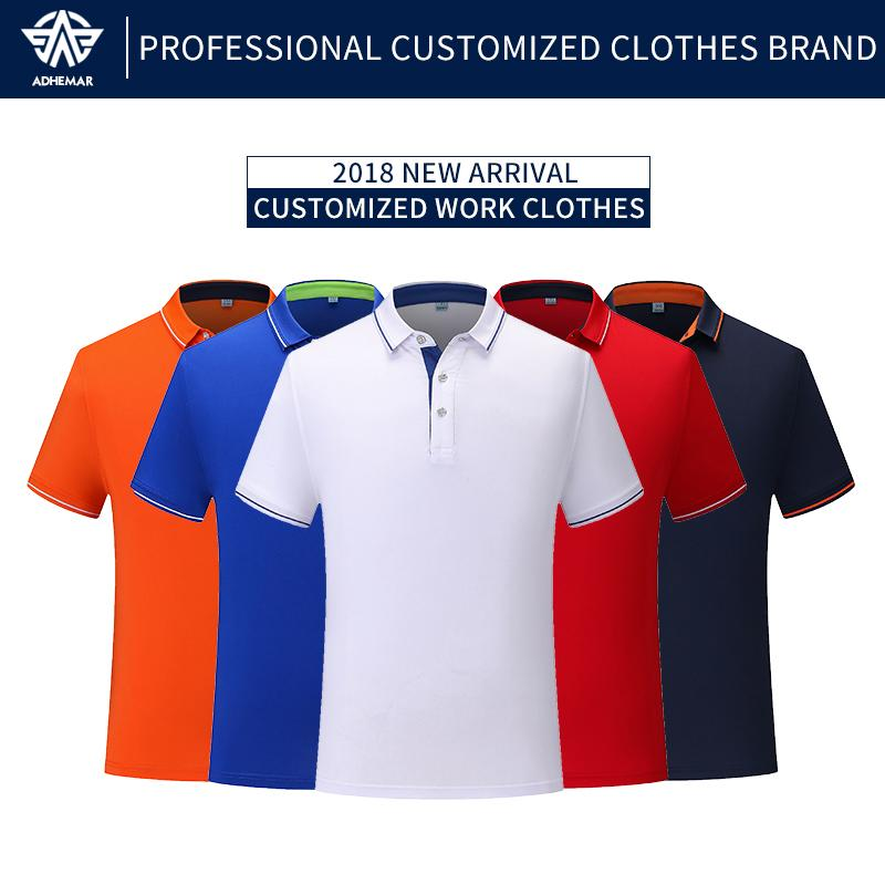 2e7c630998e 2019 Adhemar Breathable Golf Shirts For Male Female Fashionable Polo Shirt  With Collar For Business And Sports From Rainlnday