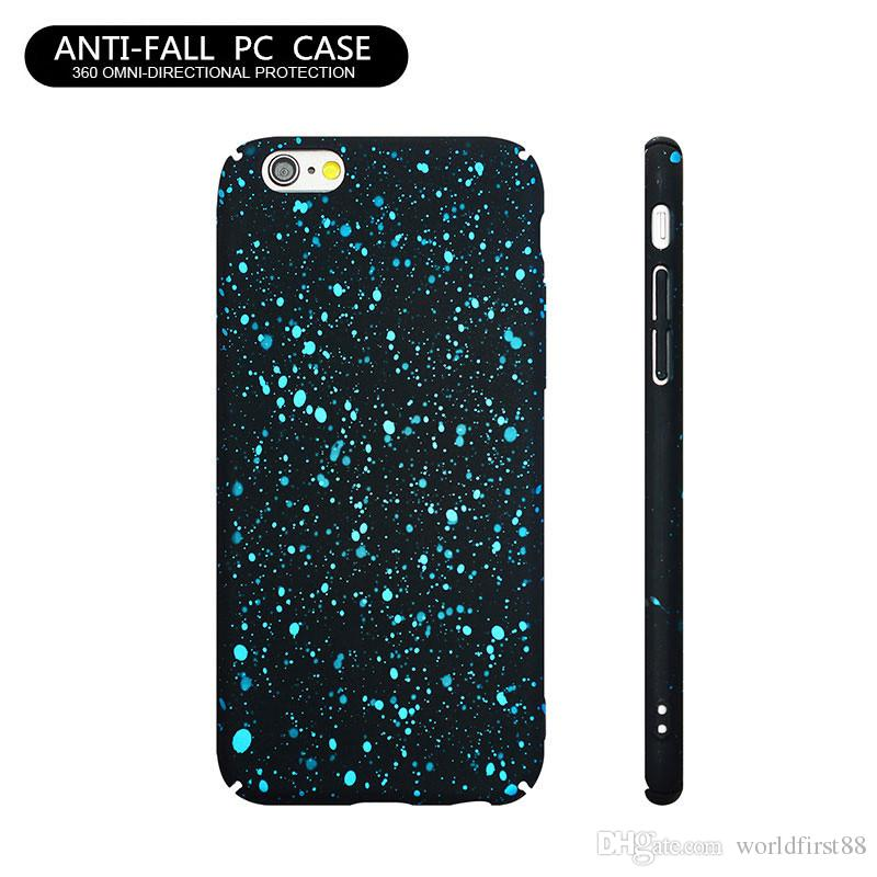 outlet store c4c1c 18033 Popular Colorful Paint Case Girls Series Cell Phone Case Shockproof  Protective Cases For iPhone 8 Plus 7 Plus 6 6S Black