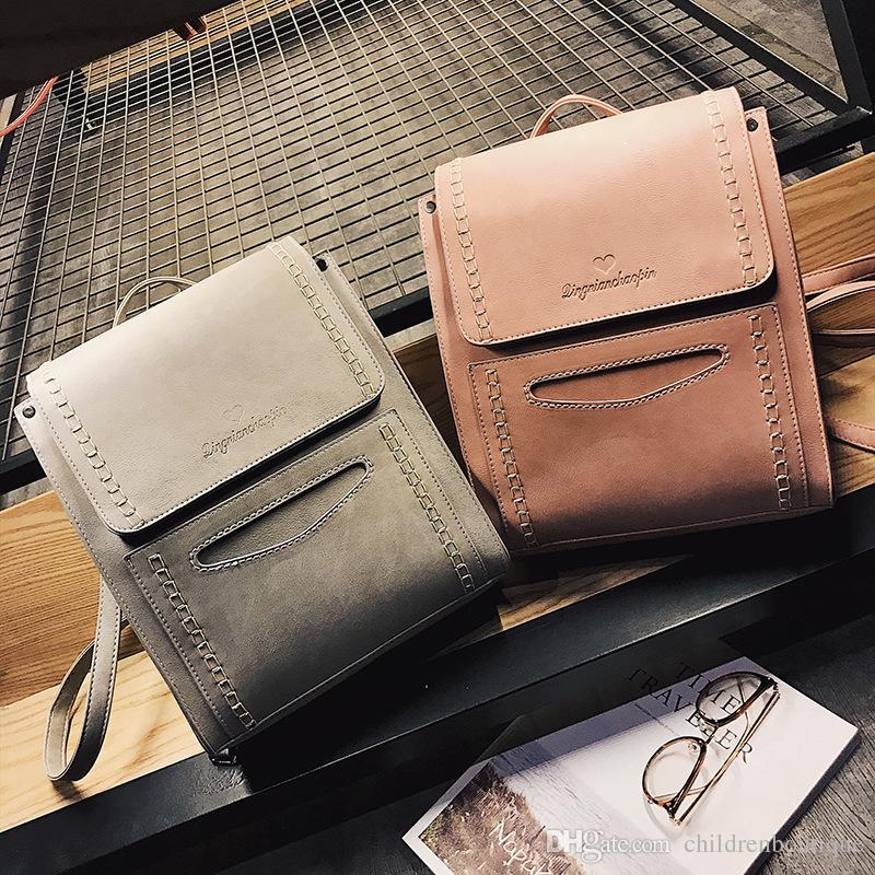 Kids Shoulders Bags Girls Fashion Korean Backpack Casual Simple Preppy  Style Bag Handbag Teenagers Girls Travel Shopping Backpack Eagle Creek  Backpacks ... 80a737e8fed18