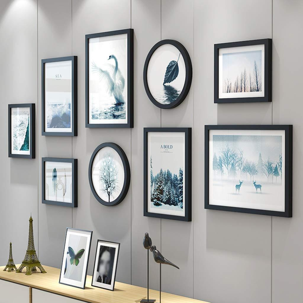 2019 Gallery Wall Frame Set Photo Frame Sets For Wall Hanging Wall