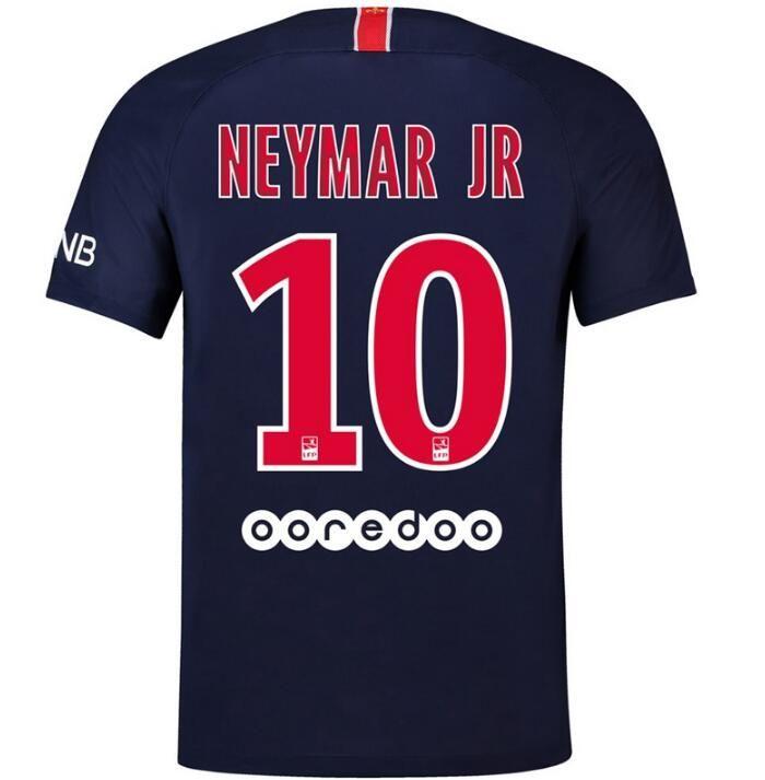 new concept 8623b c4cea PSG 18 19 neymar jr soccer jersey 2019 mbappe CAVANI PASTORE DRAXLER Paris  football shirt survetement maillot de foot customize
