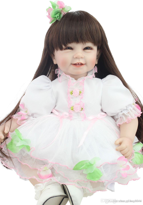 640164df0eb41 Acheter 2015 Nouveau Design Vente Chaude Réaliste Reborn Todder Fille Poupée  Gros Bébé Poupées Mode Poupée Cadeau De Noël De  80.4 Du Zhang3344