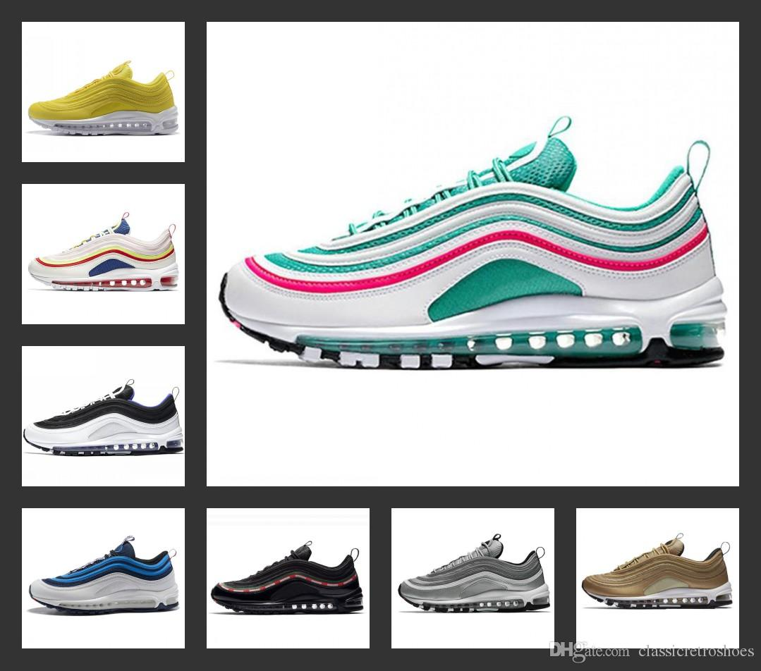 2019 South Beach Gym Red Yellow 97 Running Shoes Undftd Triple White ... 28eff1ab4