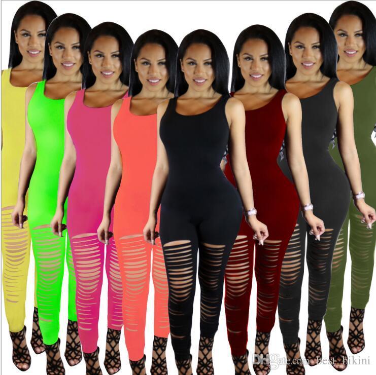 b49bb1d76117 Best Quality Women Jumpsuit Summer Sexy Rompers Fitness Leggings Pants  Jumpsuit Bodysuit Rompers Long Pants Suit For Womens Clothing Ljjk862 At Cheap  Price