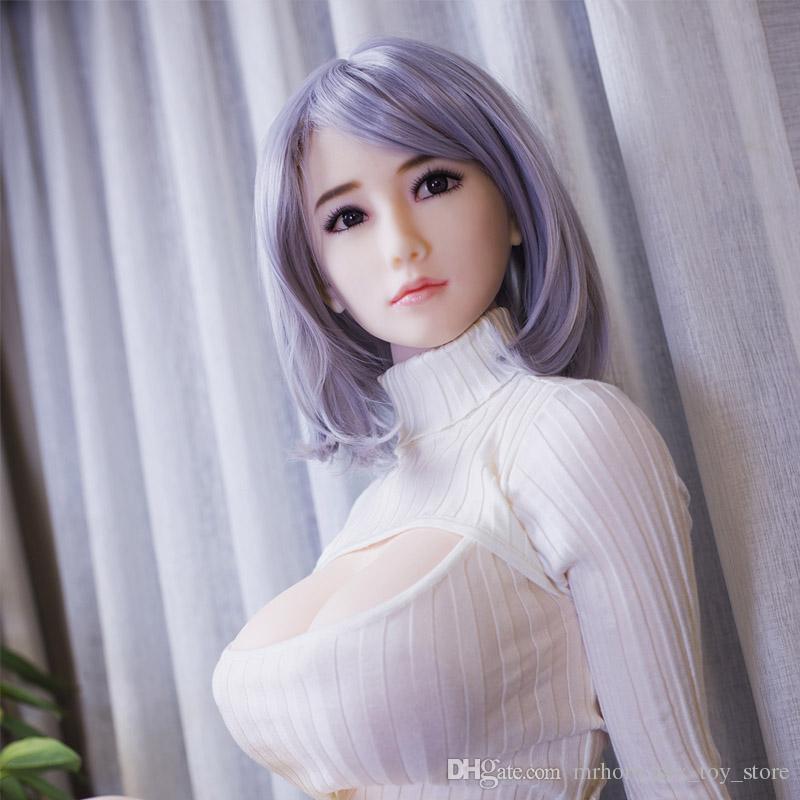 Big Breast 160 cm muñeca sexual de silicona Realista TPE cuerpo completo adultos Muñecas Sexuales real reales masturbándose amor muñeca juguetes sexuales adultos con esqueleto