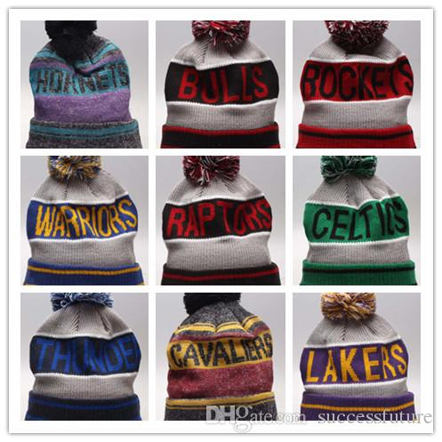 ab0a9aed4fb24 2019 New Winter Beanie Knitted Hats All 32 Teams Baseball Football ...