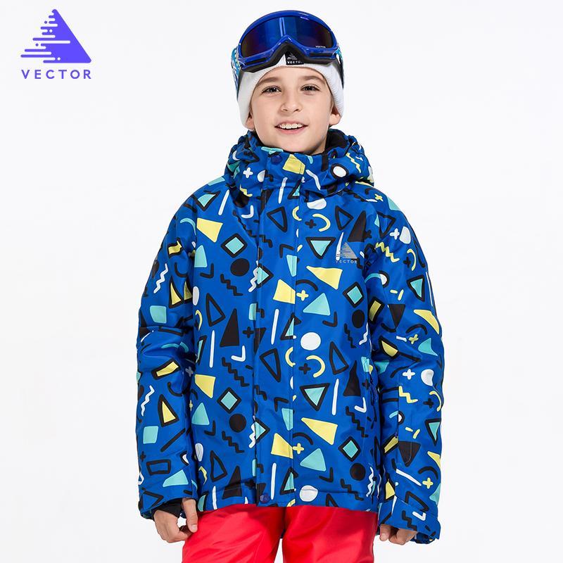 b21676c1f Boys Ski Jacket Children Waterproof Windproof Clothing Kids Ski Set ...