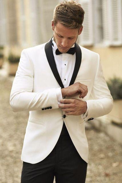 Custom Dark Blue Men Suits 2018 Wedding Slim Fit Groom Tuxedos Groomsman Suits Business SuitsJacket+Pants