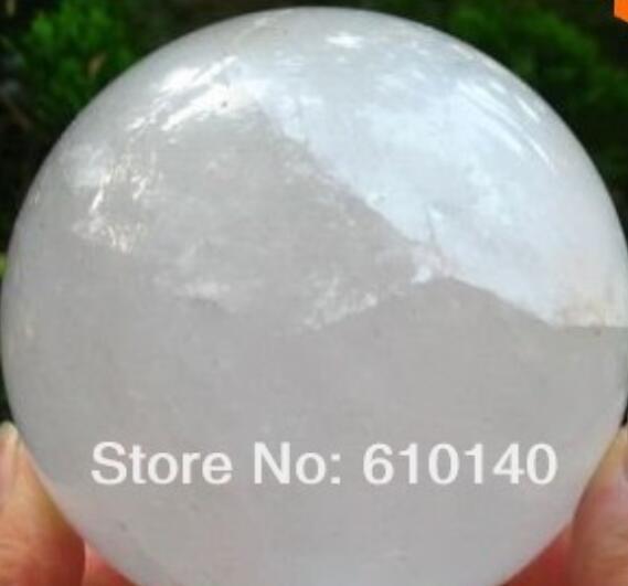 68f786f8aa Compre Esfera Rara De Cristal De Rocha De Quartzo   Bola 70mm TT De  Statue5858