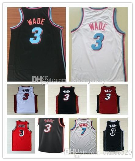 06242c47491 ... where to buy mens 100embroidery 3 dwyane wade 21 hassan whiteside  basketball jersey vice city edition
