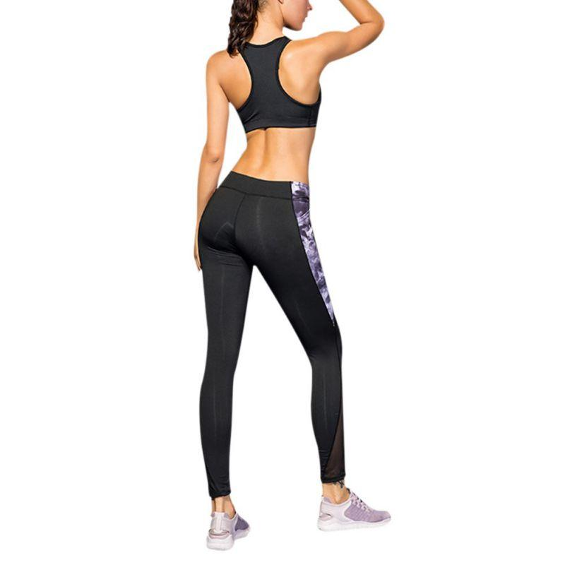 d2d97b534ef4e0 2019 Good! Women Sports Compression Pants Mesh Quick Dry Fitness Breathable  Fitness Sportswear Running Tight Leggings +Pockets Im From Yiquanwater