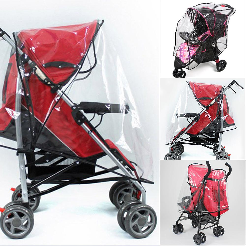 6f752179a3ce Baby Stroller Accessories Universal Waterproof Stroller Raincoat Practical  Rain Cover Wind Dust Shield Baby Strollers Pushchairs