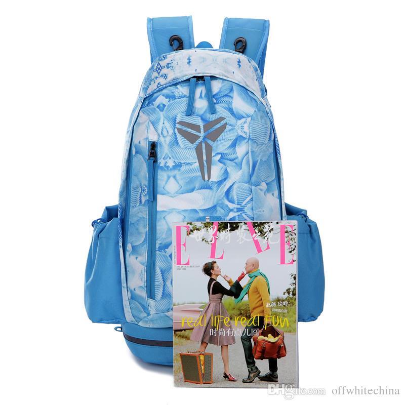 5555d392dc Basketball Backpacks Sport Packs Backpack Mosaic Man S Bags Large Capacity  Waterproof Training Travel Bags Shoes Bags Water Backpack Mesh Backpack  From ...