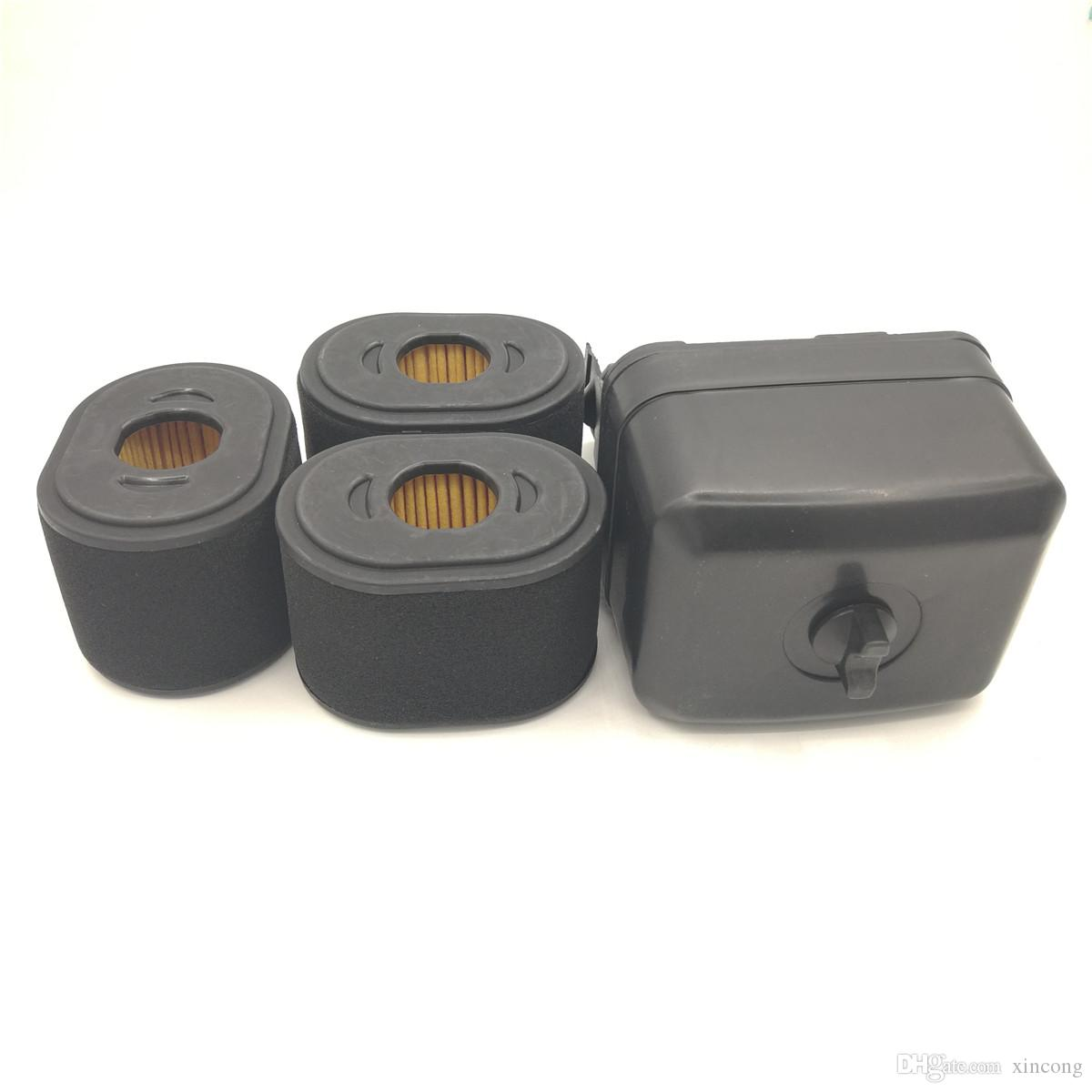 Air Filter Housing Cover Assembly 3 Spare Filters Kit For Honda Gx390 Wire Harness Gx340 Gx 390 340 Chinese 188f 190f Engine 5kw Generator