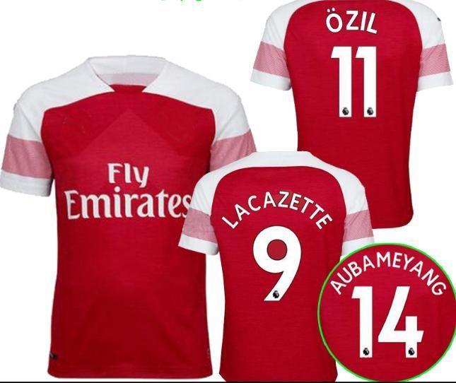 4102ac719ec new 2018 arsenal soccer jersey 2018 2019 lacazette mkhitaryan xhaka